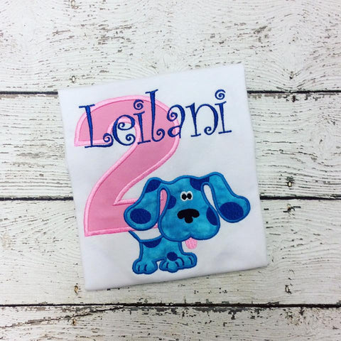 Personalized Blues Clues Birthday Design