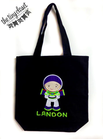 Personalized Buzz Lightyear Trick or Treat Bag
