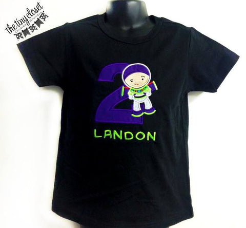 Personalized  Buzz Lightyear Birthday Design
