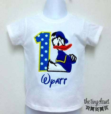Personalized Donald Duck Birthday Design