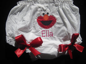 Personalized Elmo Bloomer