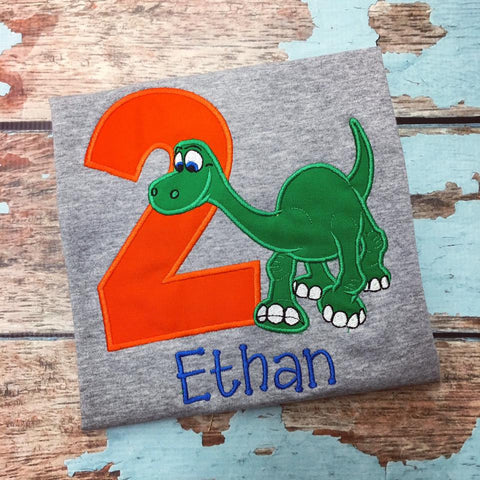 Personalized Good Dinosaur Birthday Design- Arlo