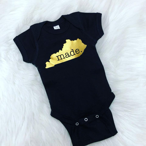 MADE in State Top- Gold- ALL STATES AVAILABLE!