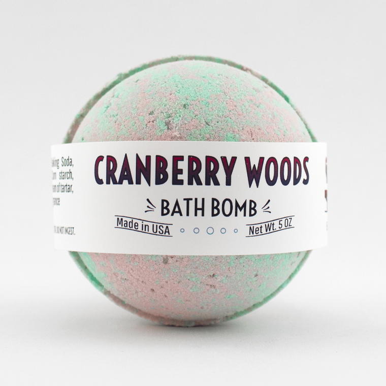 Cranberry Woods- Bath Bomb