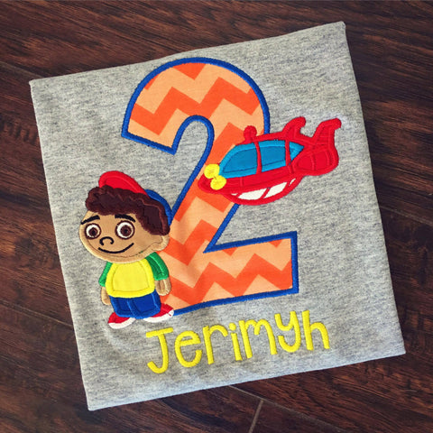 Personalized Little Einsteins Birthday Design