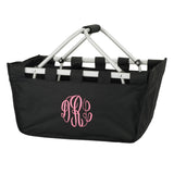 Personalized Mini Market Tote - Black