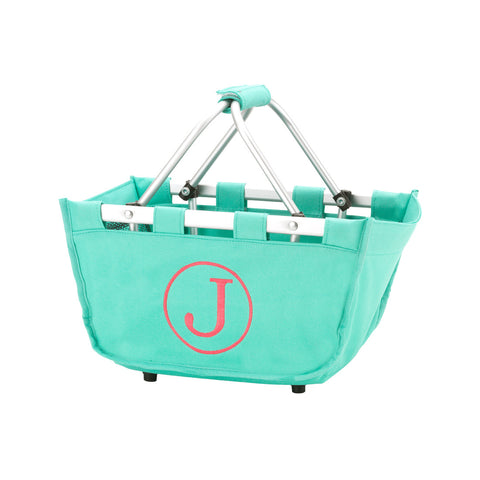 Personalized Mini Market Tote - Mint