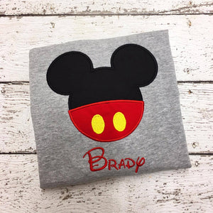 Personalized Mickey Pants Head Disney Design