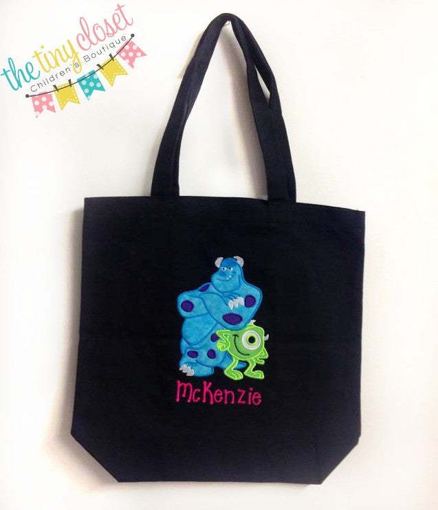 Personalized Monsters Inc. Trick or Treat Bag