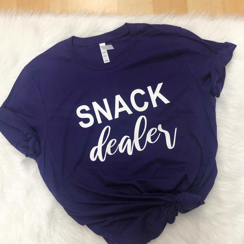 SNACK DEALER TEE - PURPLE