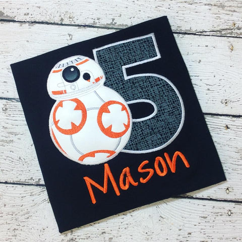 Personalized BB-8 Birthday Design