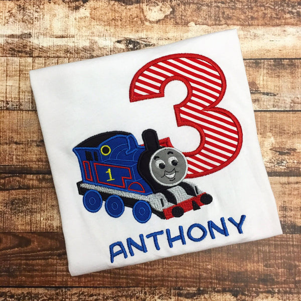 Personalized Thomas The Train Birthday Design - Full Train