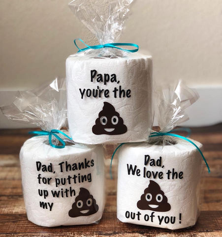 Fathers Day Toilet Paper Rolls