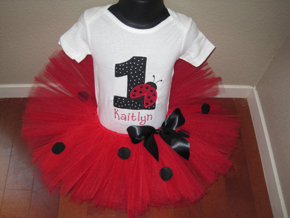 Personalized Ladybug Birthday Design
