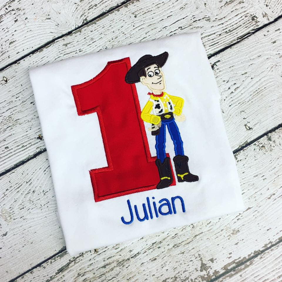 Personalized Woody Birthday Design