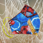 Spiderman Mask  reusable cotton washable, Triple layer