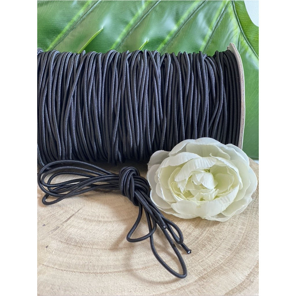 Round Elastic Cord - 3mm Elastic Cord | Kissing Cockatoo