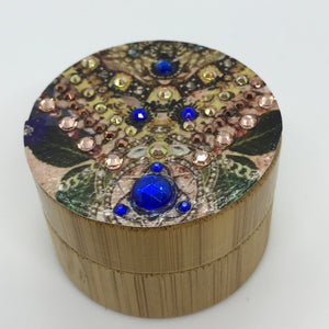 Bamboo Engagement Ring box hand decorated