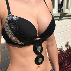 Black Festival and Rave Bra
