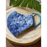 Les's blue Face Mask  reusable cotton washable