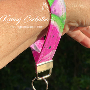 Watermelon Key Fob/Ring