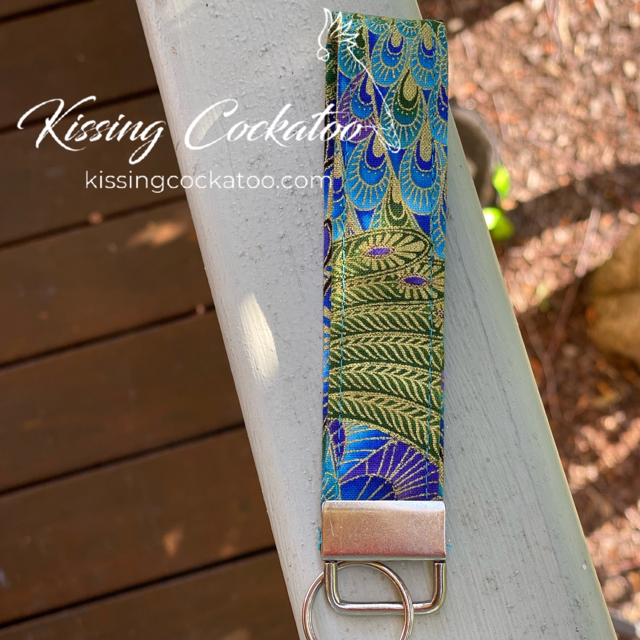 Peacock key Fob/Ring