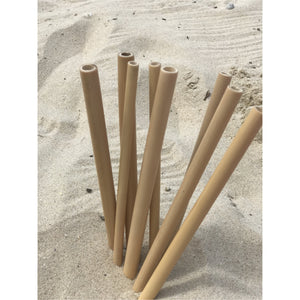 Environmentally friendly bamboo straws