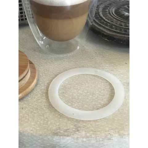 Silicone seal for your Bodum coffee or tea cup lid