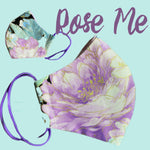 Rose me Face Mask  reusable cotton washable