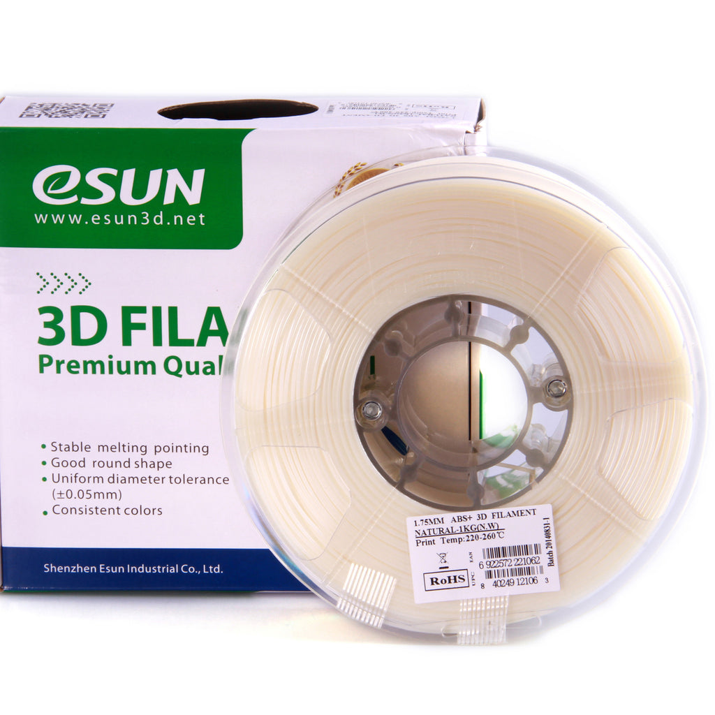 esun 2.85mm abs+ filament