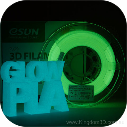 eSUN Luminous PLA 3d Filament