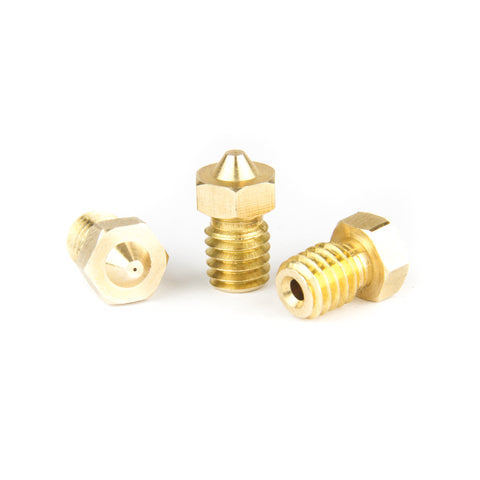 E3D J-Head Compatible Brass 1.75mm 3D Printer V6 V5 Nozzles