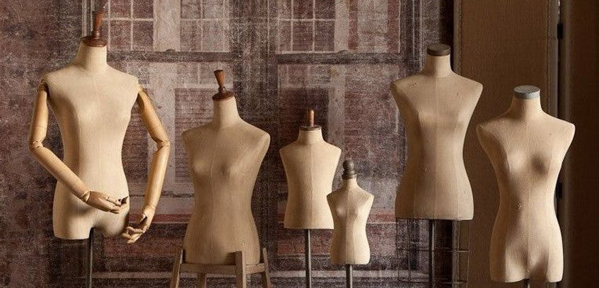 How Dress Form & Mannequin Design Evolved in Time
