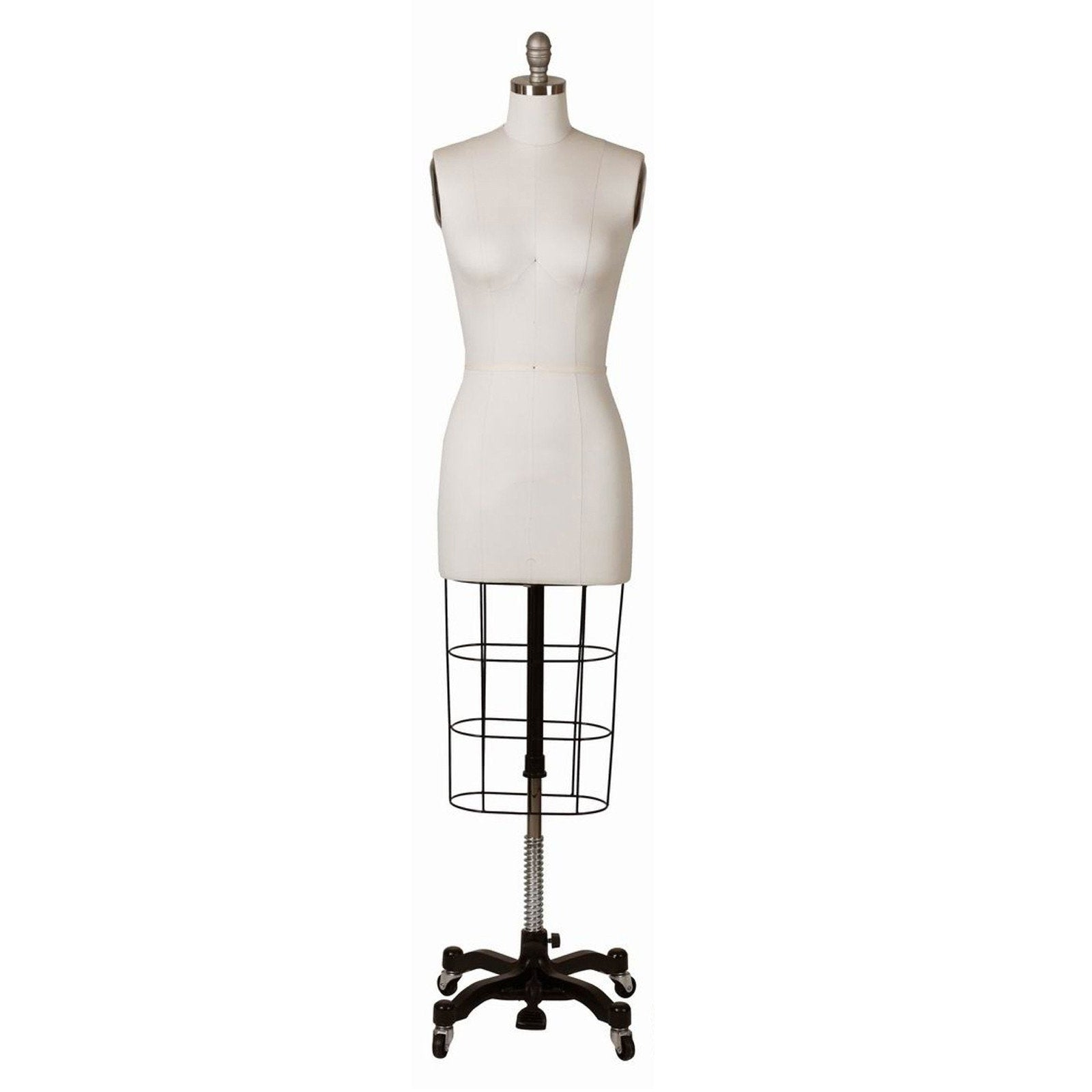 Female Professional Dress Form with Non-Collapsible Shoulders