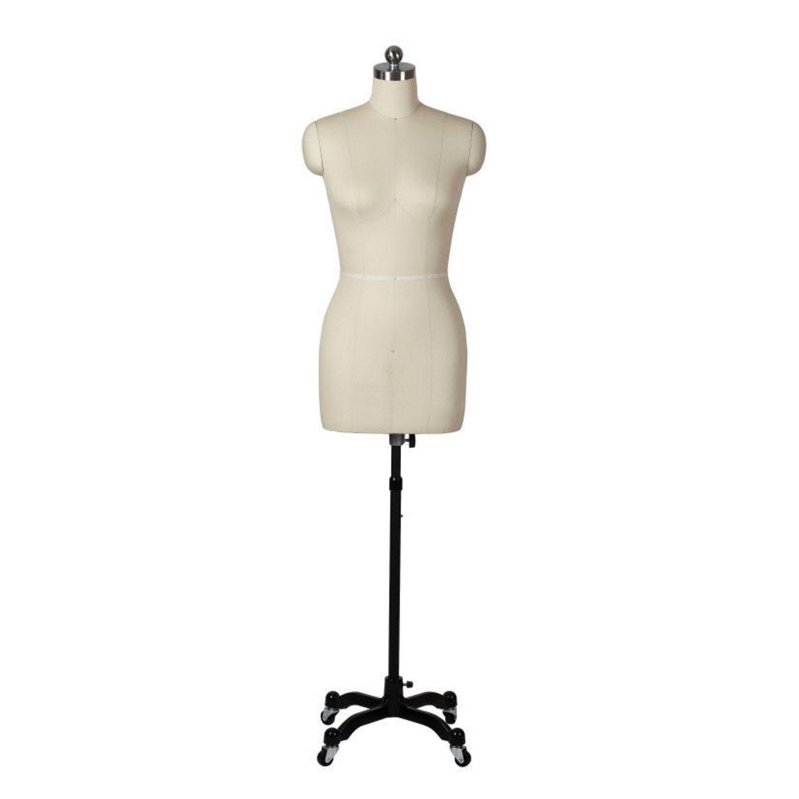 Female Professional Dress Form With Removable Shoulders, Close Up Photo Of  The Female Professional Dress