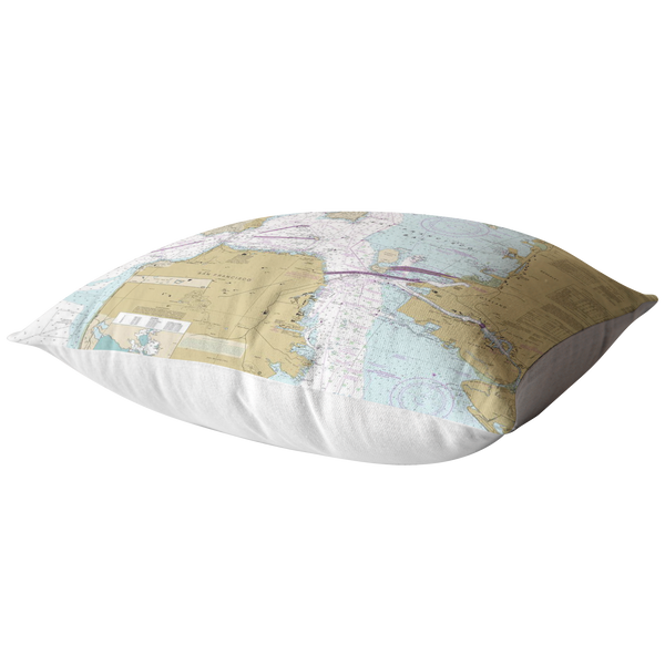 San Francisco Bay Pillow