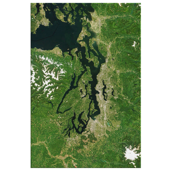 Puget Sound from Space
