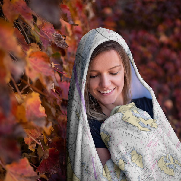 San Juans Hooded Blanket