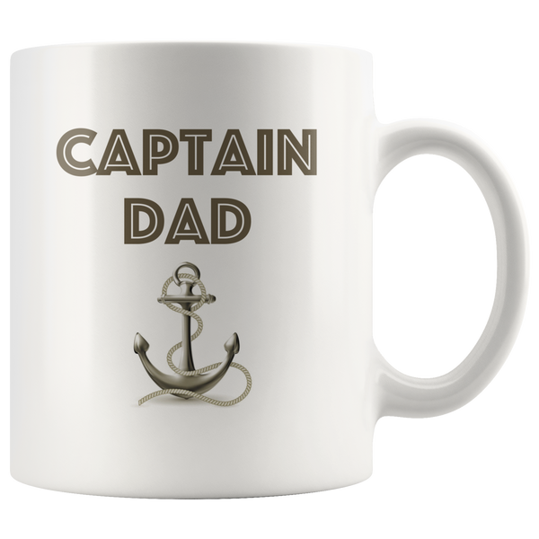 Captain Dad Mug
