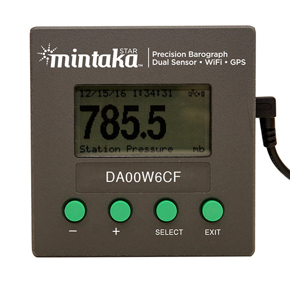 Mintaka Star Digital Barometer w/WiFi and GPS