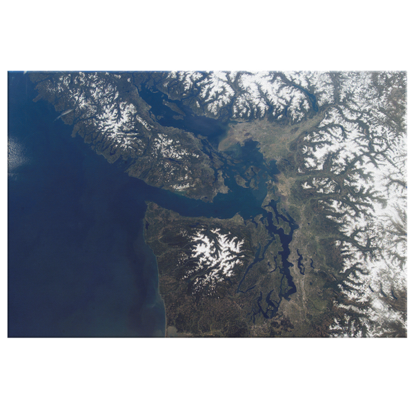 Salish Sea from Space