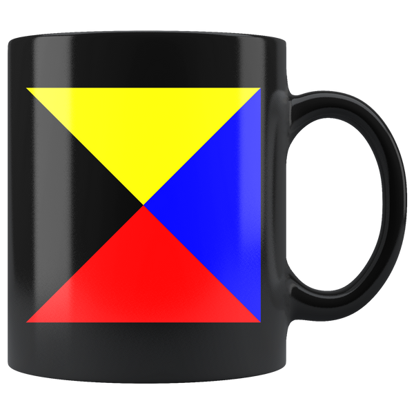 Nautical Flag Mugs Z