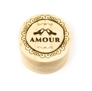 Wood Ring Box - AMOUR Design