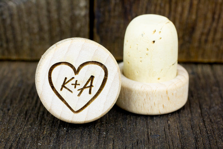 Personalized Wine Stoppers - K&A Design
