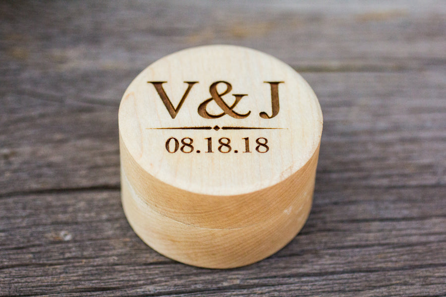 Wood Ring Box - VJ Design