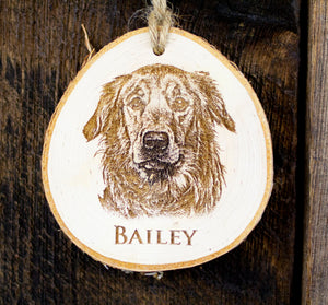 Personalized Pet Tree Ornament
