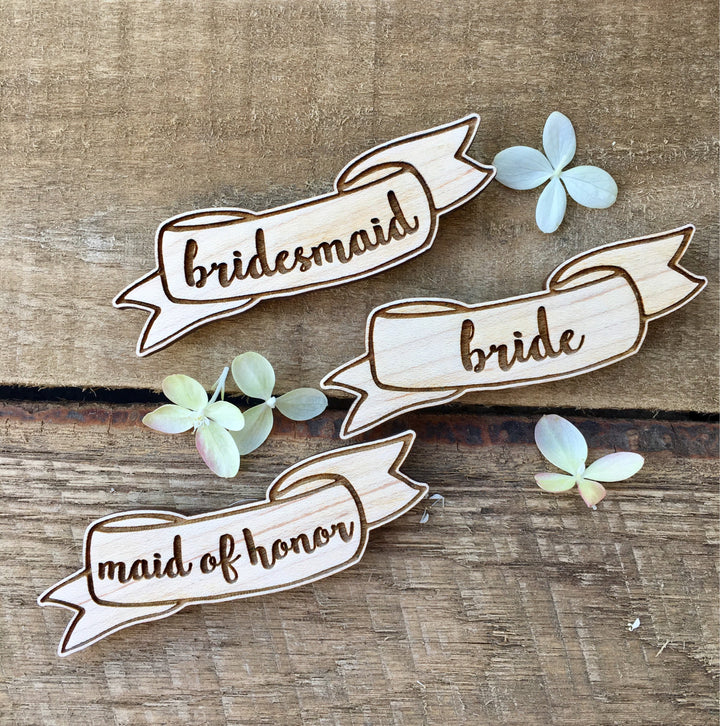Bride Squad Badges