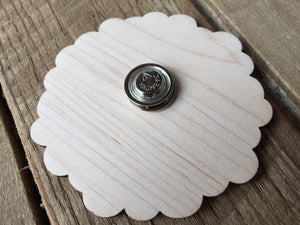 Petal Patrol Wooden Badge