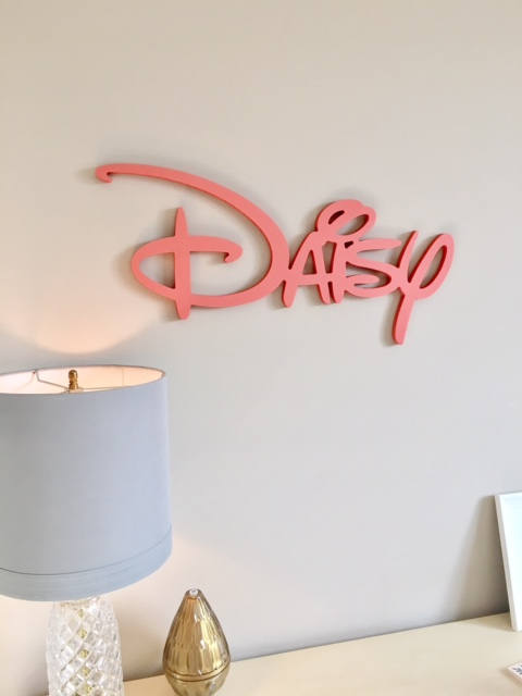 Disney Wall Name Cutout