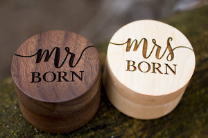 Hand Crafted Ring Box Set - Born Design